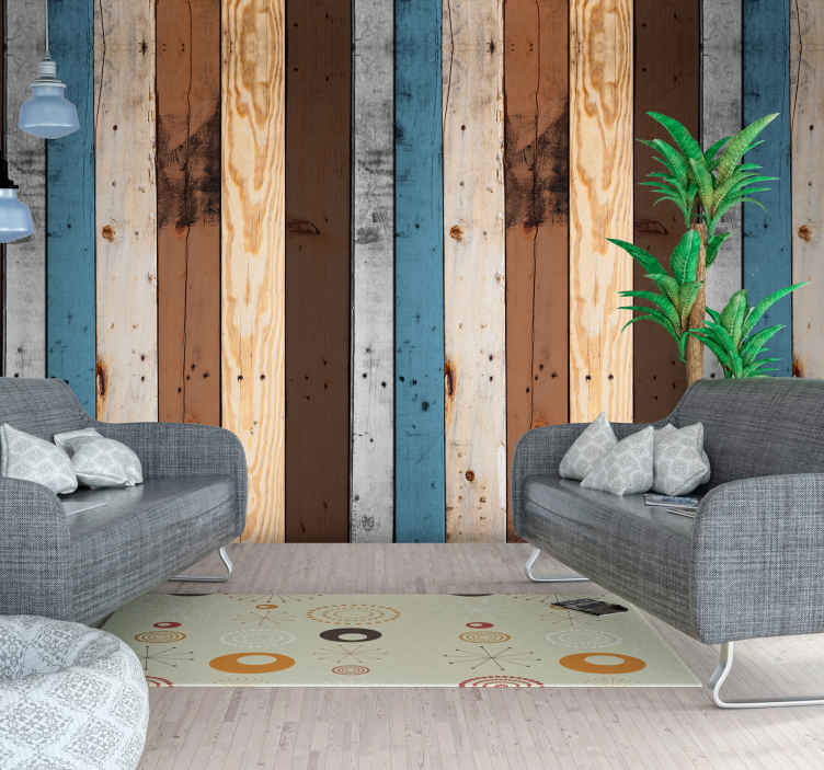 TenStickers. Beauty of wood effect Wallpaper. Revel in the beauty of wood with this wood effect wallpaper. Our wallpapers are easy to apply and we even sell the tools you'll need to apply it!