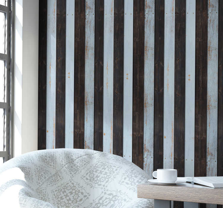 TenStickers. Rustic Wooden Textured Wallpaper. Turn your house into a more homely and welcoming environment with this awesome rustic wood wallpaper. Worldwide delivery available!