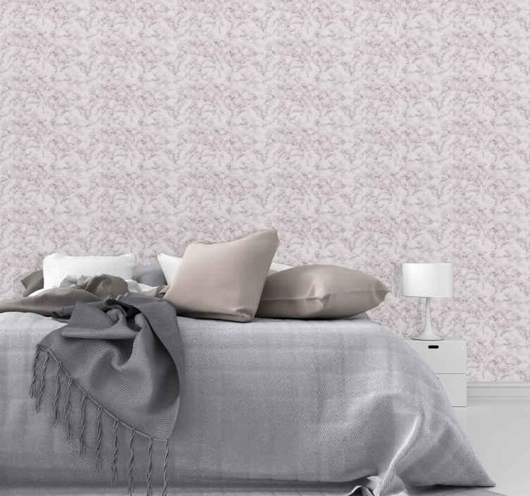TenStickers. Carta da parati marmo Modello di marmo rosa incrinato. Carta da parati fantasia di lusso per camera da letto, soggiorno, sala da pranzo, bagno e altri spazi della casa. Realizzato in materiale di qualità.