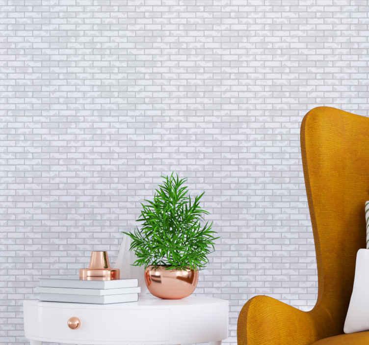 TenStickers. Behang steen Steenpatroon lichte tinten. Patroon lichte tinten steenbehang om een ruimte met een luxe uitstraling te decoreren. Wacht niet langer en bestel hem nu!