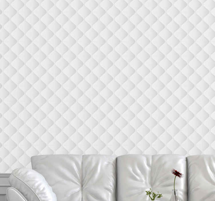 TenStickers. glamour white texture Cool abstract wallpaper. Make your room more glamorous with this amazing glamour white texture. Don't wait any longer. Order your new wallpaper now!