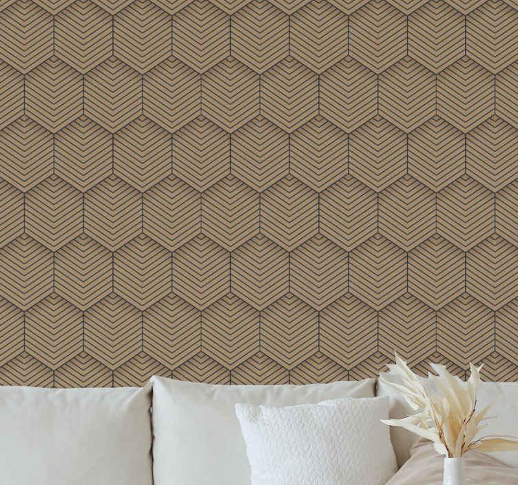 TenStickers. 魅力棕色纹理酷抽象壁纸. 这款令人惊叹的棕色质感墙纸卷让您神魂颠倒!不再等待,立即订购您的新壁纸!你不会后悔的!