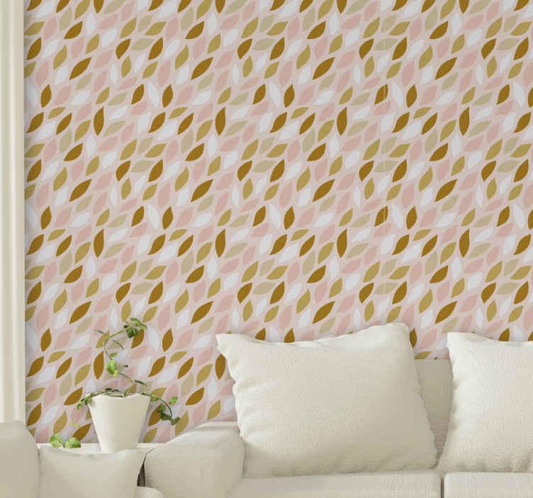 TenVinilo. Papel pintado de flores Pétalos de rosa. ¿Qué podría ser un mejor regalo para ti o para alguien que conoces que este diseño de papel pared de pétalos de rosa genial? ¡cómpralo ahora!
