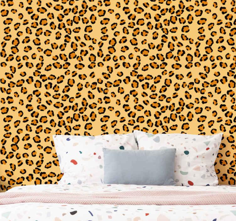 Image of Carta da parati con animali Leopardato