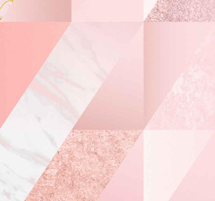 TenStickers. Roze marmeren behang. Wil je je kamer een make-over geven? Wil je er absoluut adembenemend uitzien? Dit roze marmeren behang is misschien iets voor jou!