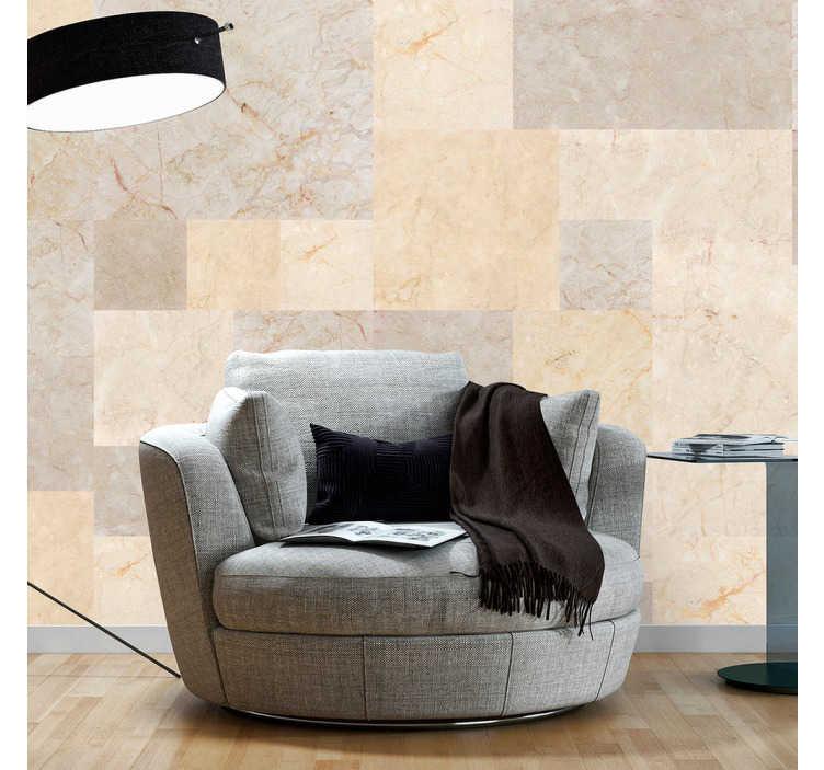 TenStickers. carta parati texture marmo color ocra. Se vuoi che la casa abbia un aspetto più elegante ed esclusivo, decora i tuoi spazi con carta da parati effetto marmo, con lastre di marmo color ocra