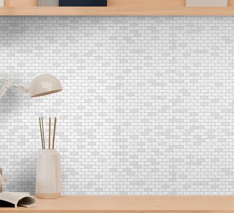 Elegant Brick Pattern Brick Wallpaper Tenstickers