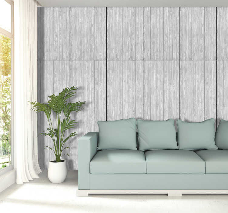 TenStickers. Big gray cloud Textured Wallpaper. If you would like to remodel the walls of your home but do not want to spend a lot of money, then this wood wallpaper is ideal for you!