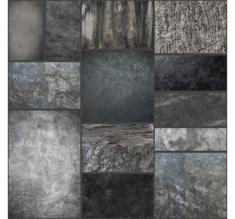 TenStickers. Stone Clouds Textured Wallpaper. This sublime dark stone wallpaper is perfect for adding a classic and rustic touch to your home in a very economical way.
