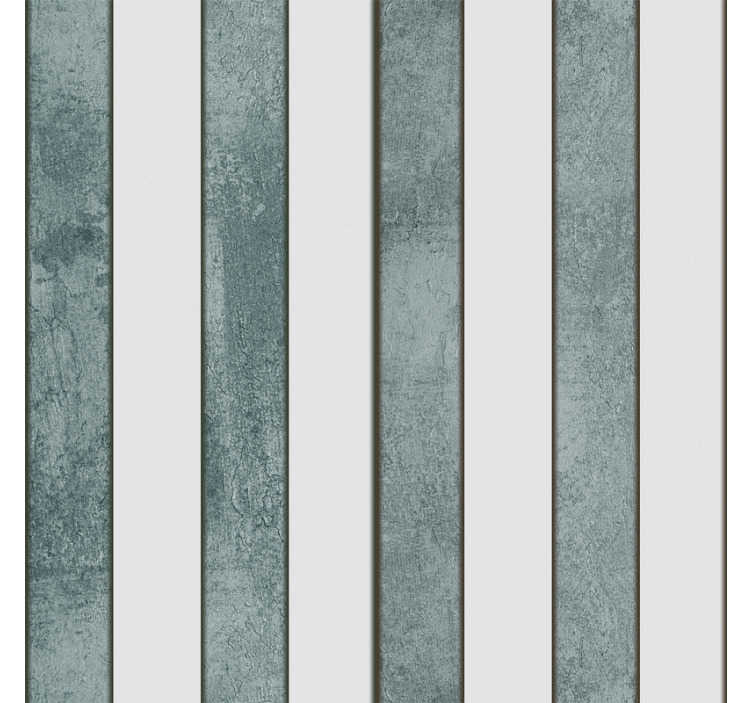 TenStickers. Stylish Face of Concrete Concrete Style Wallpaper. Patterned wallpaper with a sublime white and gray striped pattern ideal for bedroom or living room, to give a fresh air to your favorite room.
