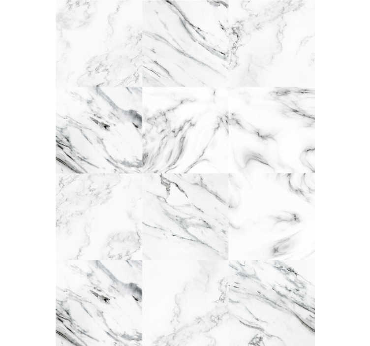 TenStickers. Marble Effect Wallpaper Cold rocks. How about this stunning marble wallpaper that will look perfectly in any room of your house, a living room, as well as bedroom? Elegant solution.