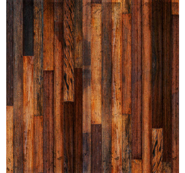 TenStickers. October evening wood Wallpaper. A stunning wood effect wallpaper for those looking for a unique, eye catching wallpaper in their home. The rich dark wood is perfect for you!