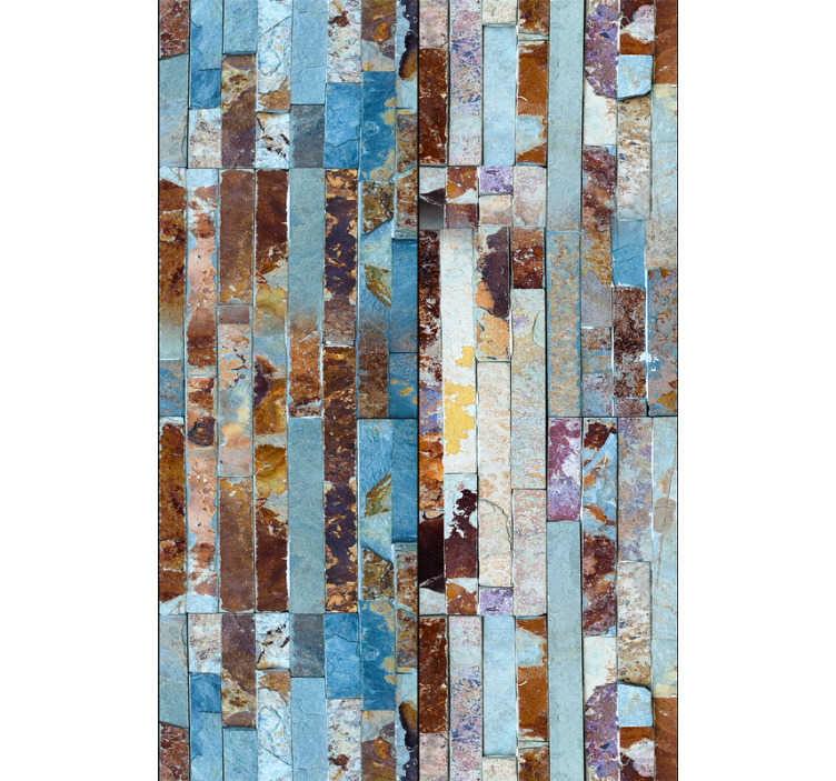 TenStickers. Esti tábortűz mintás tapéta. Adjon új életet otthonának ezzel a magasztos textúrájú és mintás tapétával, amely a legváltozatosabb színekben márványos textúrát utánozza.
