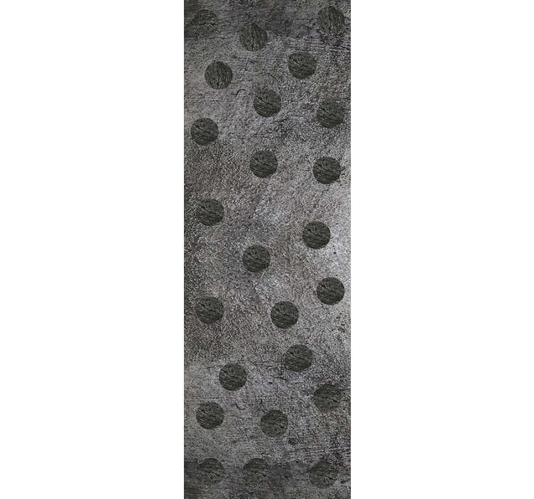 TenStickers. Grey Beauty Pattern Wallpaper. This magnificent gray beauty textures and patterns vinyl wallpaper is the ideal product to complement the decor of your living room.