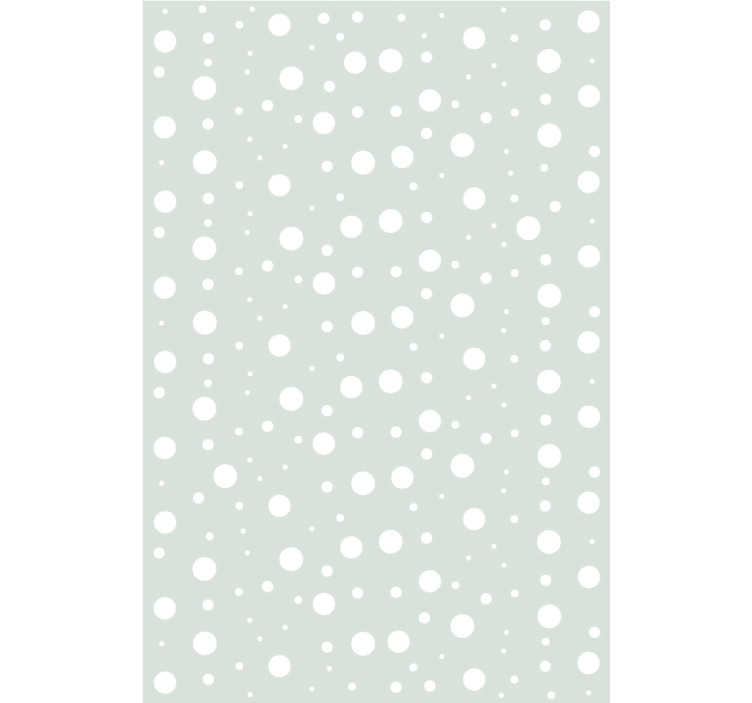 TenStickers. Wallpaper Mint Fantasy Children. This elegant circle pattern wallpaper will be a perfect decoration for  kids bedroom, teenage bedroom or your room as well. Order it now!