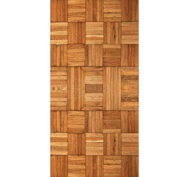 TenStickers. Textured Wallpaper Wooden Weave. How about wooden walls in your home? Too expensive? Worry no more! With our amazing wooden pattern wallpaper you can have the best of both worlds.