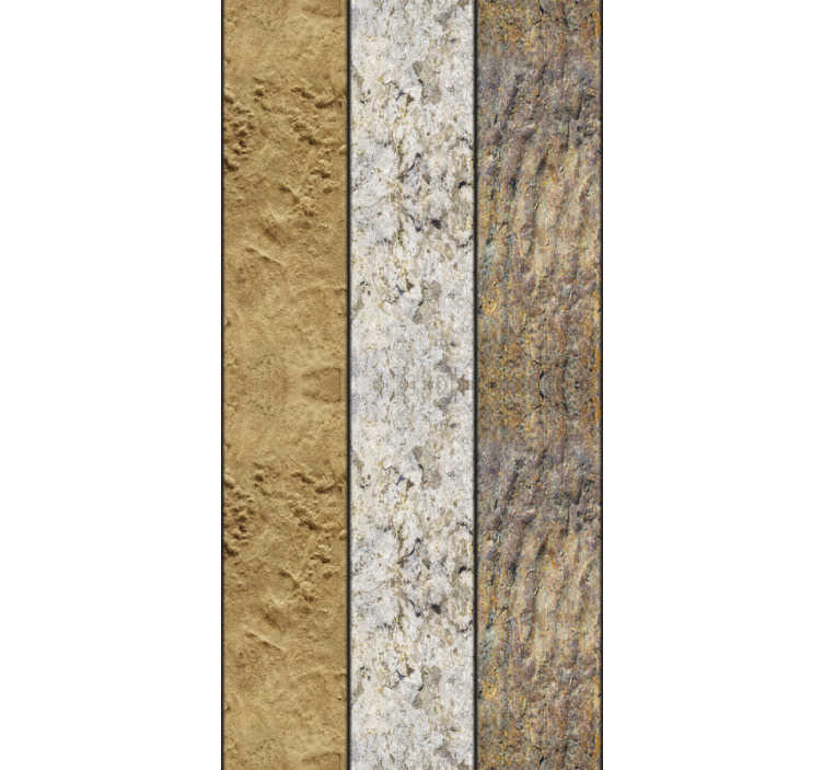 TenStickers. Stone Cave Textured Wallpaper. Give any room in your house a more underground and natural feeling with this awesome stone cave wallpaper. Worldwide delivery available!