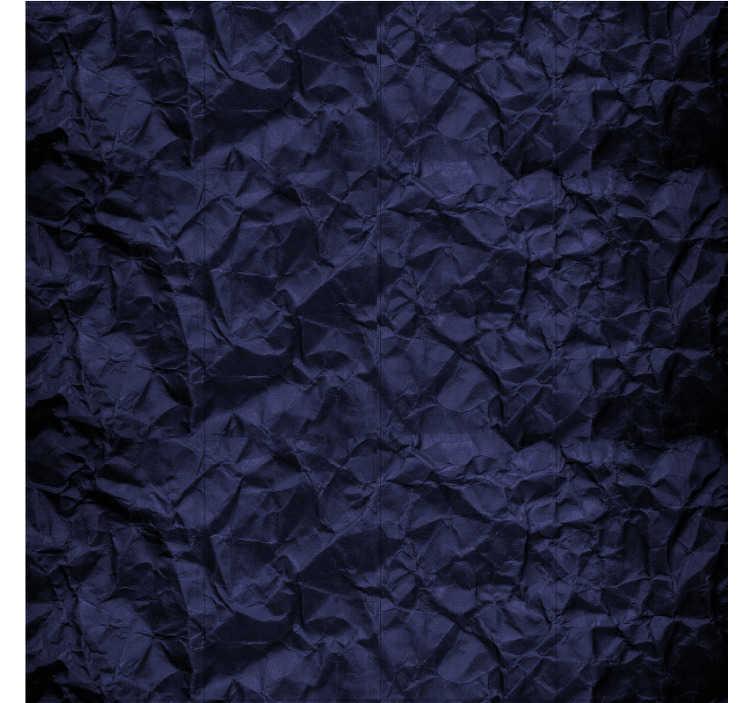 TenStickers. Papier peint moderne en crêpe bleu. Il est parfois difficile de trouver des articles qui correspondent exactement à ce que nous avons imaginé pour notre maison. Stylisez votre maison avec ce papier peint bleu.