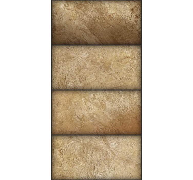 TenStickers. Papier peint motif sable. Laissez vos murs peints ennuyeux derrière et transformez votre maison en un chef-d'œuvre avec ce papier peint à motifs de sable incroyable. Livraison dans le monde entier!