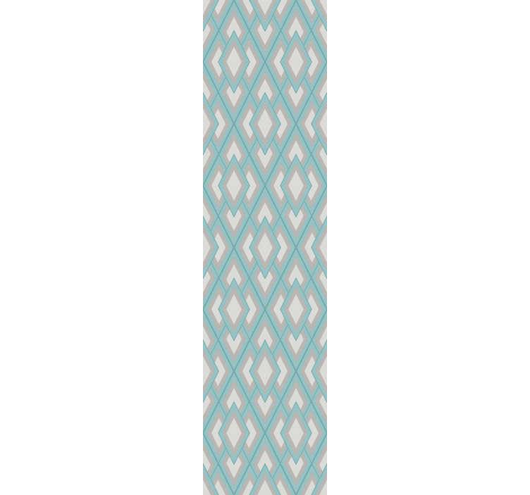 TenVinilo. Papel pintado triangular con motivos geométricos. Cuadrados, diamantes, triángulos, todas esas figuras geométricas que puedes encontrar en este papel pintado de figuras geométricas. Fácil de colocar.