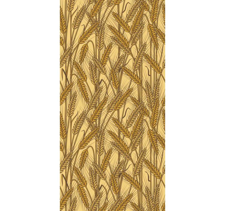 TenStickers. Tapet cu textură vintage rural. Dacă doriți un mod nou și diferit de a vă personaliza pereții, acesta este tapetul vintage perfect pentru camera de zi!