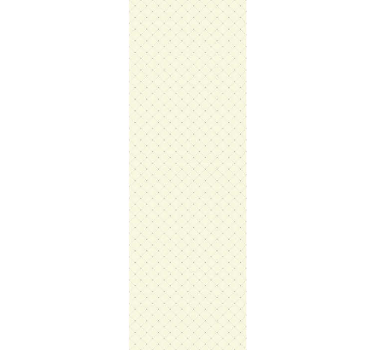 TenStickers. Dot Diamonds Beige Wallpaper. Beautiful beige wallpaper with a diamond pattern formed by dots perfect to decorate your living room in an original way.