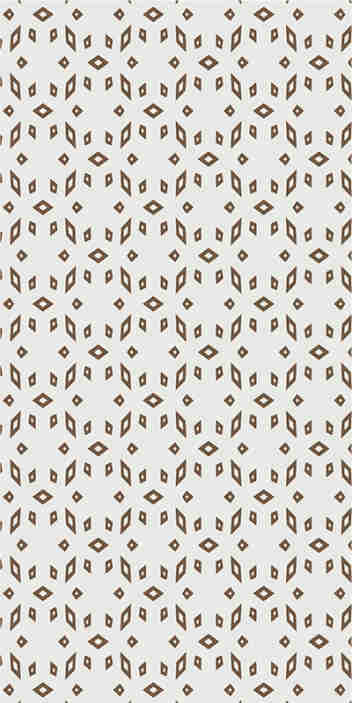 TenStickers. Gray-brown pattern Kitchen Vinyl Wallpaper. If you love and modern decors, then this modern wallpaper with a pattern of geometric beige figures in a white background is exactly what you need.