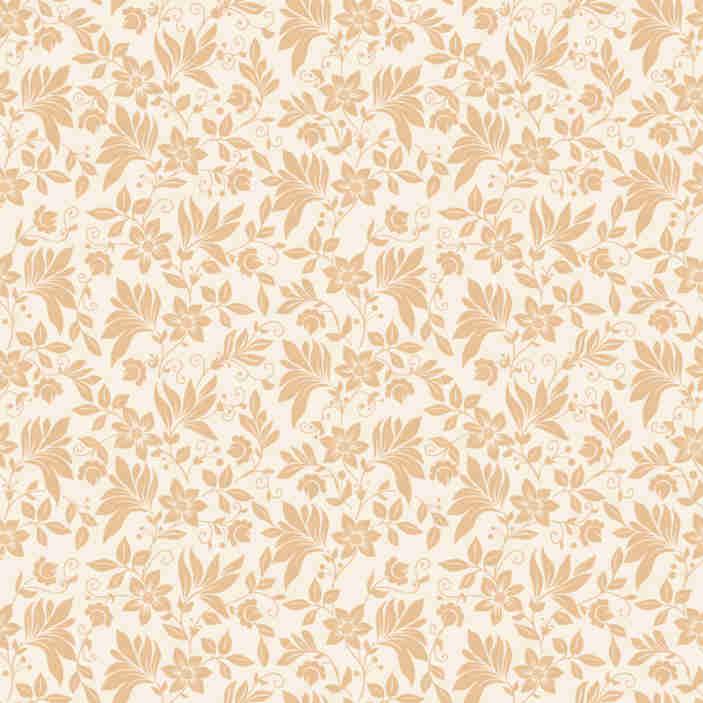 TenStickers. Carta parati floreale sogna come 70. Magnifica carta da parati ornamentale beige con un delicato e raffinato motivo floreale che renderà qualsiasi stanza in cui la metti in un luogo lussuoso.