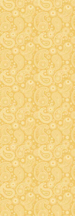 TenStickers. Arabic paisley style Living Room Wallpaper. A simple and modern wallpaper decoration for living room, bedroom and hallways.  It is easy to apply and made with high quality vinyl.
