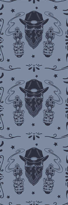 TenStickers. Cowboy skull and flock Living Room Wallpaper. An amazing vintage wallpaper to decorate your home space with a cowboy's vibe. The design is featured with different elements used by cowboys.