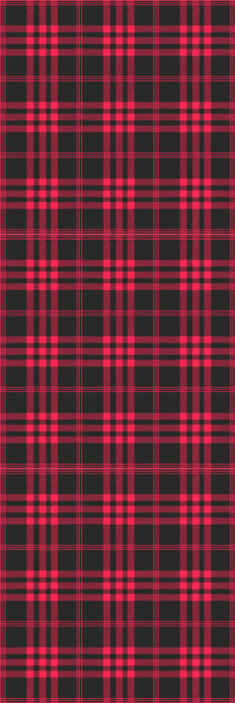 TenStickers. Christmas Tartan Pattern Horizontal Pattern Wallpaper. Christmas tartan pattern striped wallpaper design made in red and black colour. It is easy to apply and of great quality.