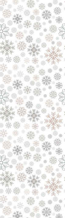 TenStickers. Snowflakes pattern Feature Living Room Wallpaper. Snowflakes patternChristmas wallpaper design that would be lovely to decorate a living room space in Christmas. It is easy to apply and of  quality.