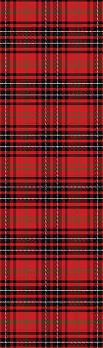 TenStickers. Tartan wallpaper. Decorative Scottish tartan stripe pattern wallpaper to decorate your home in classic and vintage style. It is original and easy to apply.