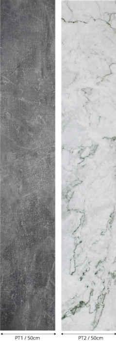 """""""Tenstickers"""". Pilko marmuro efekto tapetai. Nuostabus dekoratyvinis pilkos ir juodos marmuro faktūros tapetų dizainas su originalia išvaizda. Produktas yra pagamintas iš aukštos kokybės ir lengvai pritaikomas."""