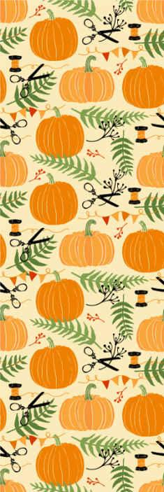 TenVinilo. Papel pared naranja calabazas de Halloween. Papel pintado de Halloween de color naranja para decorar tu hogar para el festival de halloween. Elige unidades ¡Compra online!