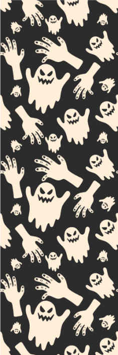 TenStickers. Scary Wallpaper. Scary and terrific Halloween wallpaper to decorate your home and other eternal spaces for Halloween.. It is original and easy to apply.