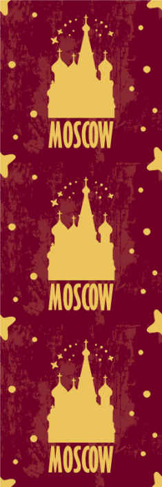 TenStickers. Catedrala din moscova are tapet pentru sufragerie. Conferă casei tale o notă decorativă spectaculoasă și originală cu designul tapetului tematic al orașului al catedralei din moscova. Este original și ușor de aplicat.