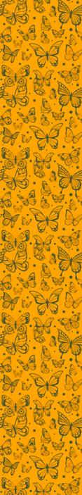 TenStickers. Behang vlinders Trendy vlinderspatroon. Vintage vlinder patroon behang om elke ruimte een fantastische look te geven. Decoratief op een woonkamer, gang, slaapkamer en bedrijfsruimte.