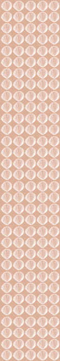 TenStickers. papel de parede animais Padrão de concha retrô bege. Papel de parede bege com conchas do mar. Ótimas soluções para sala de jantar ou hall. Feito de materiais de alta qualidade e de fácil aplicação.