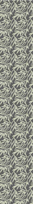 TenStickers. Trees on grey background glamour palm tree wallpaper. Patterned trees leaves grey tree wallpaper. This lovely design would be nice to decorate any room in the home. Easy to apply an made of top quality.