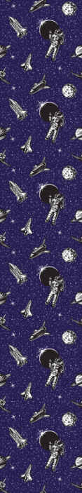 TenVinilo. Papel pared infantil azul con astronautas. Papel pared infantil con dibujos de astronautas y estrellas sobre un fondo azul. Colócalo en el cuarto de tus hijos ¡Envío exprés!