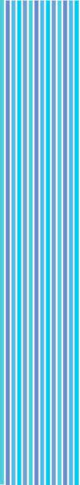 TenStickers. Verticaal behang Blauw en groen gestreept. Gestreept behang met een mooi patroon van verticale strepen in verschillende kleuren. Hoogwaardige materialen gebruikt. Wereldwijde levering.