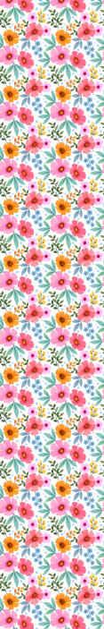TenStickers. Beyaz arka plan yemek duvar kağıdı ile renkli çiçekler. Yatak odası için beyaz arka plan yatak odası duvar kağıdı ile harika renkli çiçekler. Kullanımı kolay resimlerle harika bir tasarım.