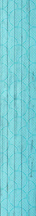 TenStickers. carta parati astratta Vintage geometrico con cerchi in legno. Meravigliosa carta da parati vintage geometrica con cerchi in legno per camera da letto. Un ottimo design con illustrazioni facili da usare.