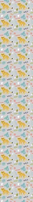 TenStickers. Absztrakt leopeards szürke háttér hűvös állat háttérkép. Csodálatos absztrakt leopárd szürke háttér tapéta a hálószobában. Remek design, könnyen használható illusztrációkkal.