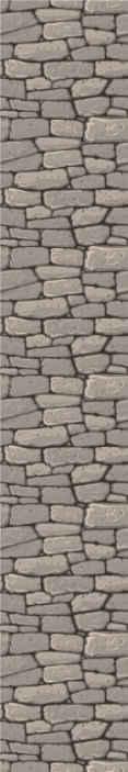 TenStickers. 仿古石石材效果壁纸. 质朴的石头壁纸,以惊人的效果翻新您的房屋。石材纹理设计的合适的豪华客厅壁纸。