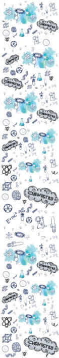 TenStickers. Chemistry Teenage Bedroom Wallpaper. Decorative science laboratory apparatus wallpaper containing apparatus for chemistry practical and illustration of other field of science.