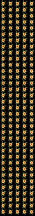 TenStickers. Carta da parati a fiori Modello girasole. Carta da parati girasole che presenta un motivo di girasoli disegnati in modo complesso circondati da foglie. Iscriviti subito per uno sconto del 10%.
