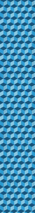 TenStickers. Deep blue 3d wallpaper Bedroom Wallpaper. Fantastic blue wallpaper with patterns imitating assembled optical prisms. Suitable for any space of your choice. Made of best quality material.