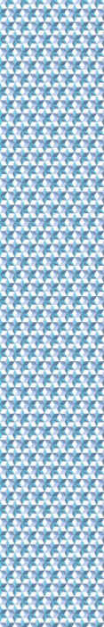 TenStickers. Blue geometric wallpaper for Bedroom. A 3D luxury wallpaper patterned with geometric textured shape prints in blue colour. It is suitable for living room, office and other space.
